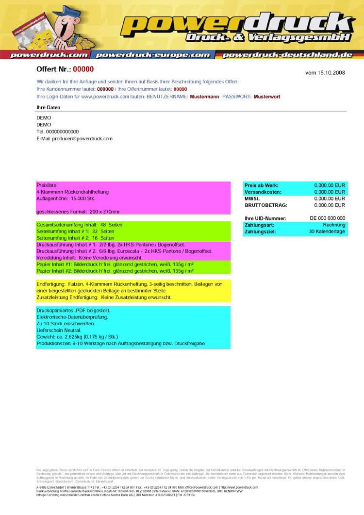 Powerdruck, Druckerei, Ebreichsdorf, Magazine, Rückenheftung,  Drahtheftung, Rückenheftungen, Drahtheftungen, Offsetdruck