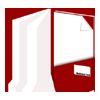 Imagebroschüre: Druckerei, drucken, heften, binden, falzen, schneiden, stanzen, Druck, Magazine, Bücher, Kataloge, Broschüren