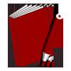 Malbuch: Druckerei, drucken, heften, binden, falzen, schneiden, stanzen, Druck, Magazine, Bücher, Kataloge, Broschüren